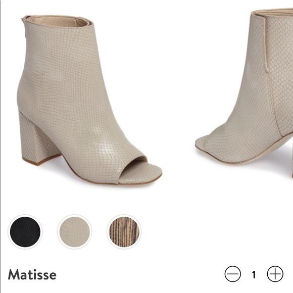 Matisse Melaney Open Toe Bootie iIYjDlMvy